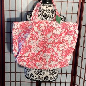 🌴Lilly Pulitzer palm beach tote